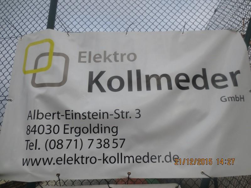 Sportheim Altheim - Firmen / Elektro Kollmeder