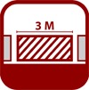 Logo Bandenwerbung 3m - Gemeinsam Zukunft geben