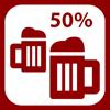 Logo Gaststaette 50% - Gemeinsam Zukunft geben