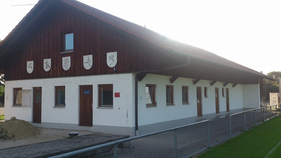 SV Altheim - Abriß altes Sportheim