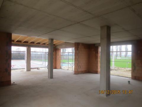 Der Rohbau des neuen Vereinsheims - SV Altheim