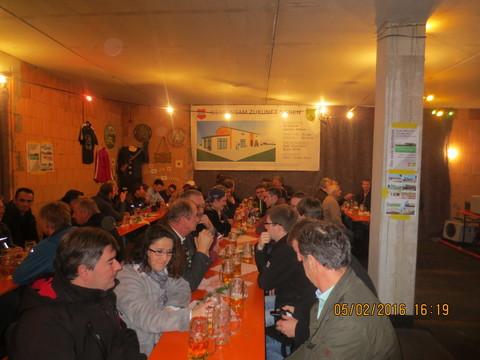 Richtfest im neuen Vereinsheim - Sportheim Altheim