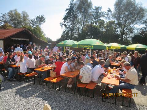 Einweihung des neuen Sportheims in Altheim