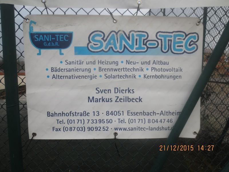 Sportheim Altheim - Firmen / Sanitec