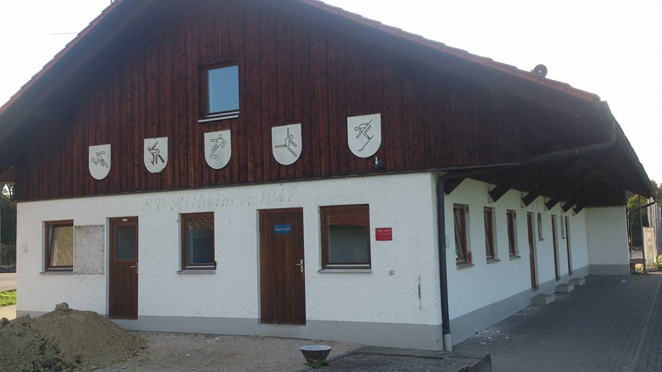 SV Altheim - Abriß altes Sportheim