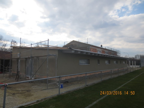 Verputz  - Sportheim Altheim