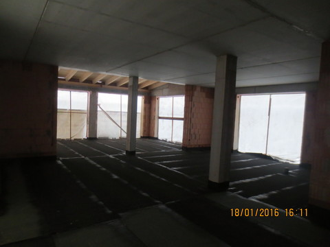 Innenausbau des neuen Vereinsheims - Sportheim Altheim